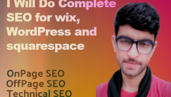 I will provide complete monthly SEO services