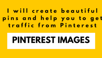 I will create beautiful Pinterest Templates for your Blog post/product/business