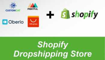 I'll create automated dropshipping store with shopify