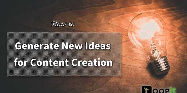 How to generate new ideas for content creation and increase your sales - By Dushyant Tyagi