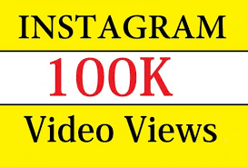 100K Views on Instagram video