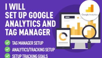 I Will Set Up Google Analytics And Tag Manager