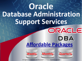 I Will give Monthly Oracle Database Administration and Oracle DBA Support Services