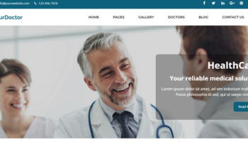 I can create a fully Medical and Doctor Website CMS