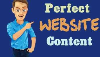 I will write perfect website content