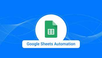 Master sheet automation in Google Spreadsheet