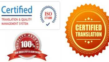 Certified Translation Service // Certificate Translation // Legal Translation //