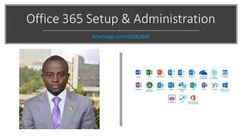 Microsoft Office 365 Administration and Support