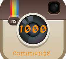 1000 your own instagram comments