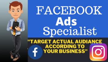 I will setup facebook marketing advertising fb ads campaign with instagram ads