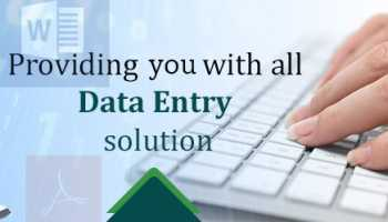 I can do any type of Data Entry or Data Scrapping
